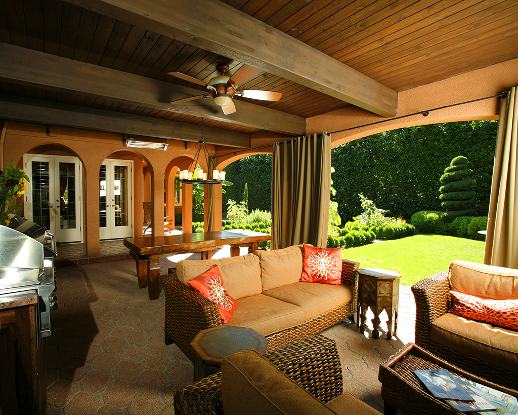 Outdoor Rooms Add Livable Space
